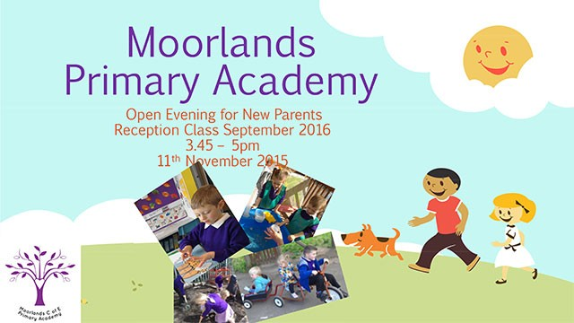 Open Evening for new parents Reception 2016