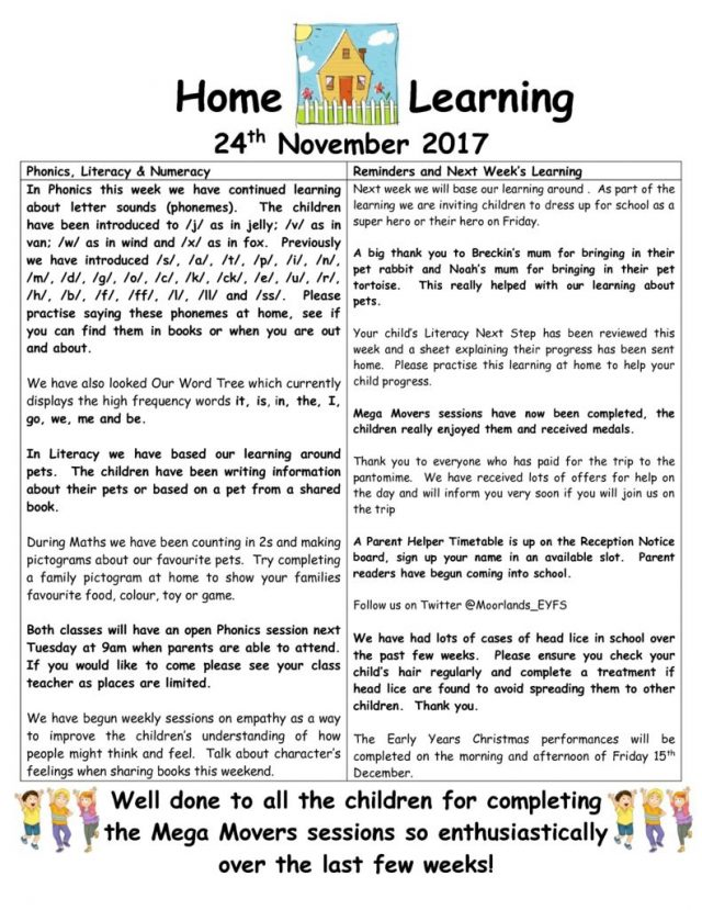 thumbnail of Home Learning 24.11.2017 (1)