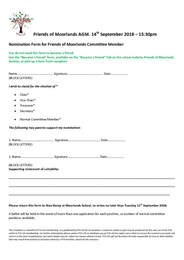thumbnail of 2018 Friends AGM Application